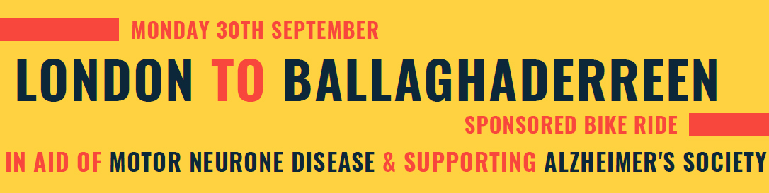 London to Ballaghaderreen Charity Bike Ride