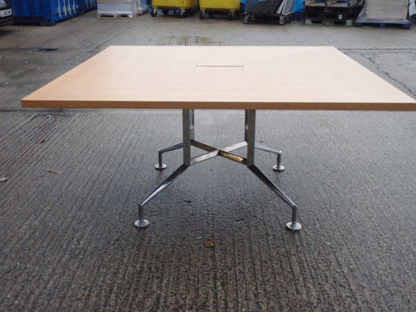 Second Hand Square Meeting Table Park RoyalOffice Furniture - Second hand conference table