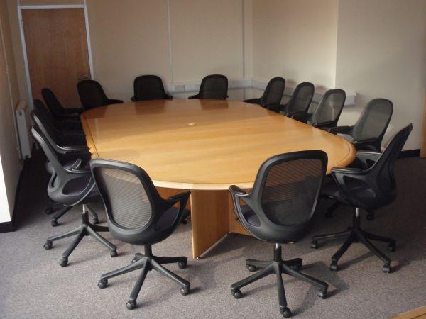 Large Bespoke Boardroom Table - Large boardroom table