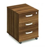 Impulse 3 Drawer Under Desk Pedestal