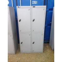 4 Door Locker - Nest of 2