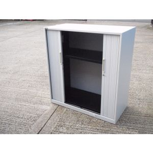 Triumph Tambour Storage Cabinet