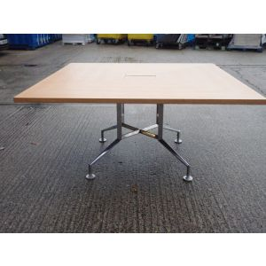 Used 1500mm Square Meeting Table