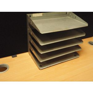 5 Tier In - Out Tray