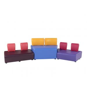 Adult and Junior Sinuous Seating