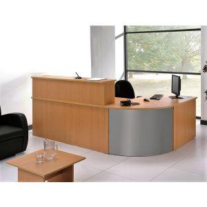 Beech 3 Part Reception Desk