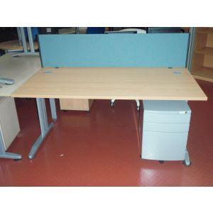 Beech or Maple 1600 x 800 Desk