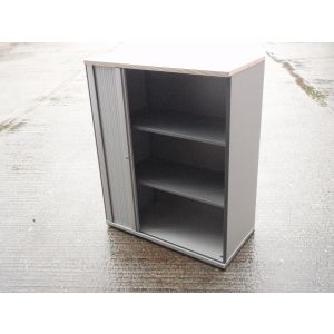 Bene Single Tambour Door Storage Cabinet