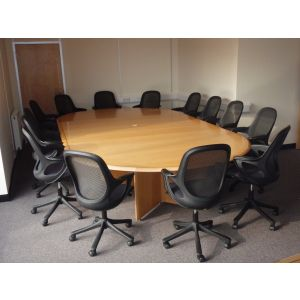 Large Bespoke Boardroom Table
