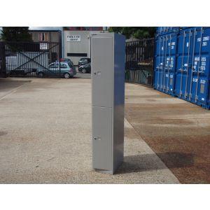 Bisley Grey 2 Door Locker
