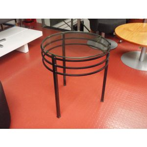 Black and Glass Tables