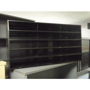 Black Pigeon Hole File Unit