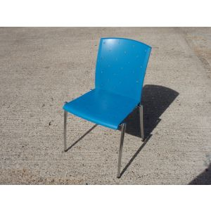 Blue Konig Neurath Chairs