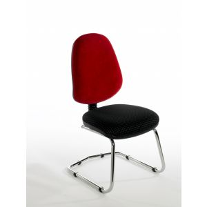 Chrome Cantilever Chair