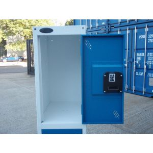 New Coin and Key Operated 3 Door Lockers