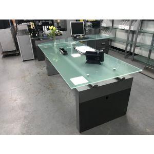 Glass Executive Desk