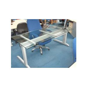 Glass Desk