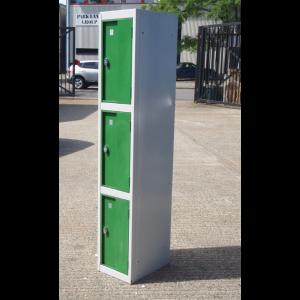 Green 3 Door Lockers