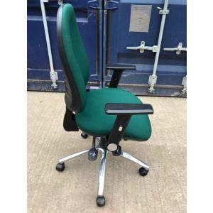 Green Operator Chair