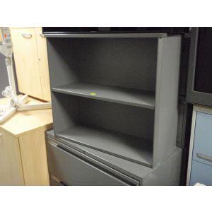 Grey Open Bookcase