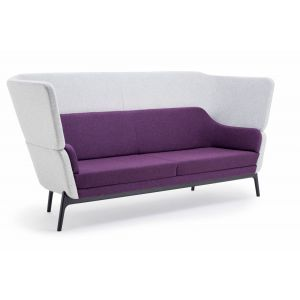 HARC High Back 3 Seater