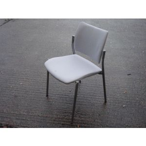 Ice Grey Stacking Chair