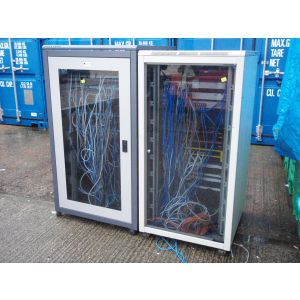 Large Comms Cabinets with Contents