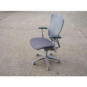 Light Grey Mesh Operator Chair