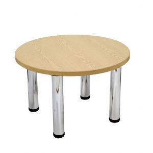 Light Oak Circular Coffee Table