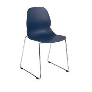 Linton Chrome Cafe Chair