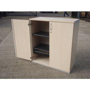 Maple 2 Door Storage 1110 x 1000