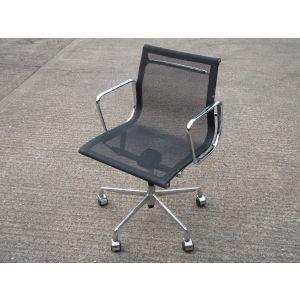 Mesh and Chrome Desk Chair