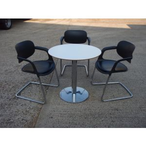 Allermuir Table with 3 Chairs