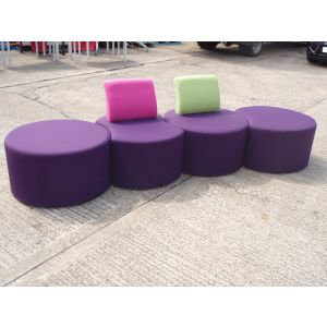 Pacman Reception Seating