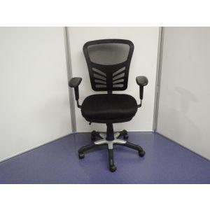 Royal Mesh High Back Chrome Swivel Base Chair
