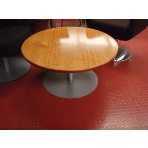 Pedestal Base Coffee Table