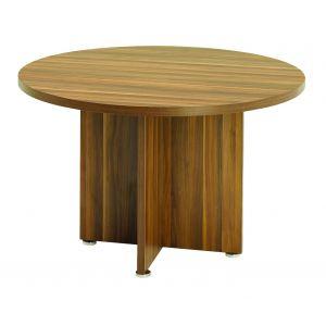 Regent Dark Walnut Meeting Table