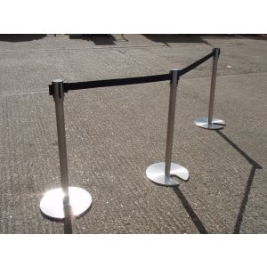 Retractable Belt Barrier Stands