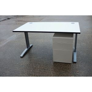 1200 x 800 Desk & Mobile Pedestal