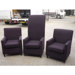 Set of Three Chairs