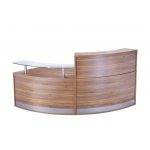 Two Part Reception Desk