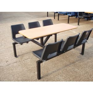 Fast Food 6 Seater Unit - Used