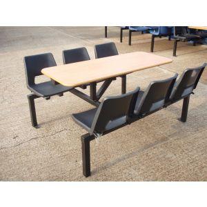 Fast Food 6 Seater Unit - Used