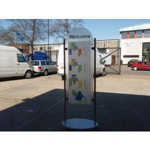 Welcome Display Stands