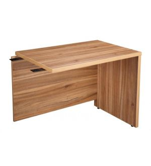 Royal American Walnut Executive Desk Return