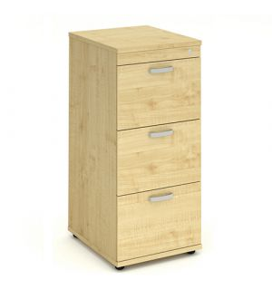 Impulse 3 Drawer Filing Cabinet