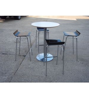Allermuir High Table and 4 Stools