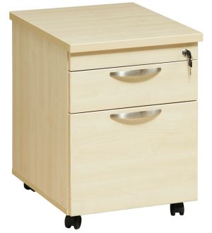 Two Drawer Mobile Pedestal