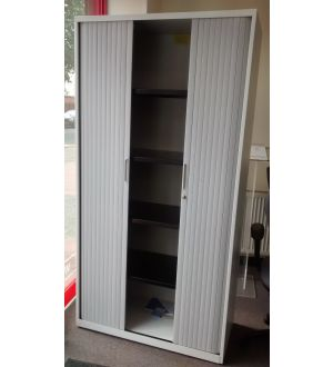 Tall Bisley Tambour Storage