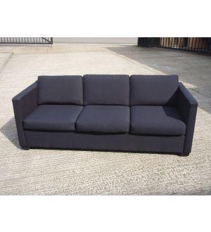 Black 3 Seater Settee